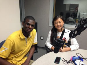 Missouri Public Affairs Academy students Richard Omoniyi-Shoyoola and Soojin Park discuss the academy.