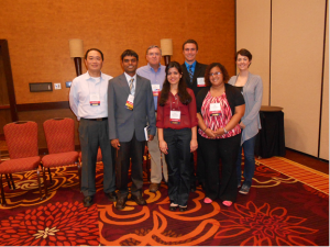MSU participants with Dr. Andy Walker, the conference organizer (back middle left)