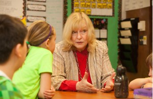 Julie Masterson in classroom