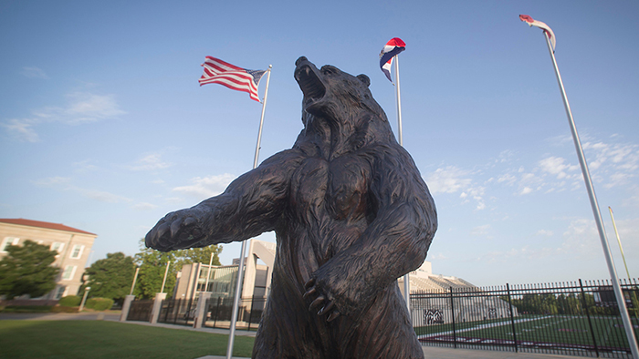 The Bronze Bear statue