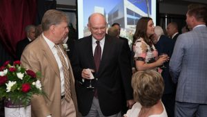 Dr. Michael Nietzel at Bears of Distinction dinner