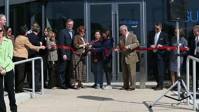 MSU and Mercy cut ribbon on new MSU Care Clinic - News - Missouri ...