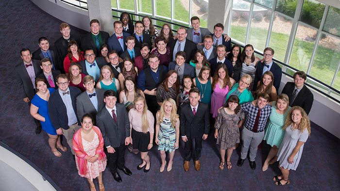 Group Photos of the Missouri State Chorale at JKHHPA.