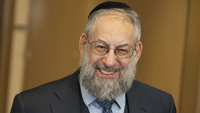 A head shot of Dr. Lawrence Schiffman.