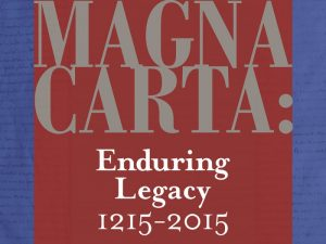 Exhibit, activities planned for 800th anniversary of Magna Carta