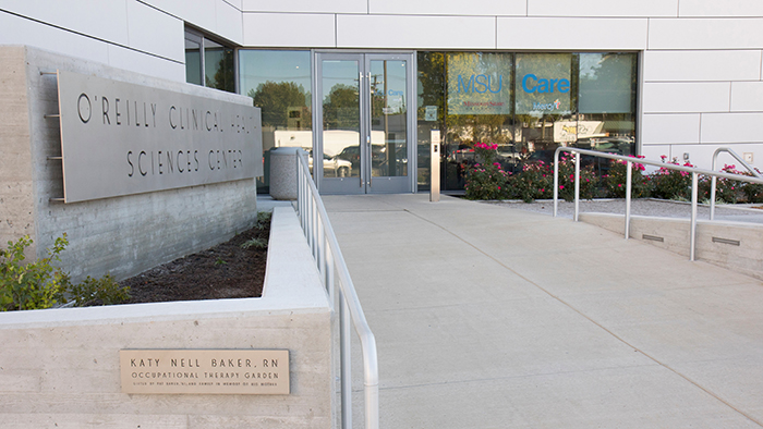 MSU Care is within the O'Reilly Clinical Health Sciences Center on the Springfield campus.