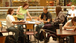 Students accessing disability resources