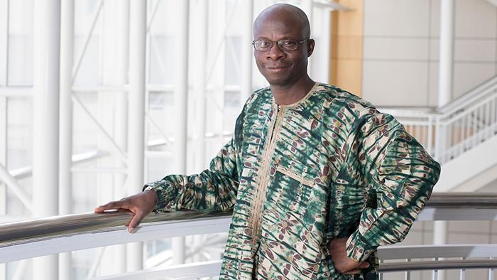 Bukola Oyeniyi, professor of history for Mindy's Eye research.