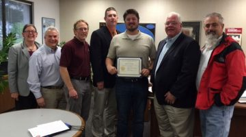 Geology student receives national award