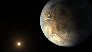 Exoplanets in space