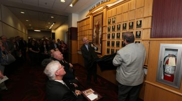 Five former faculty, staff selected for 2016 Wall of Fame induction