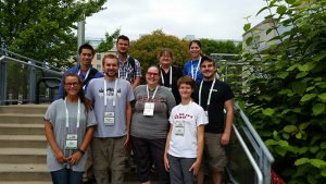 Biology students, faculty present research at summer conferences