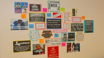 University celebrates LGBTQ+ History Month