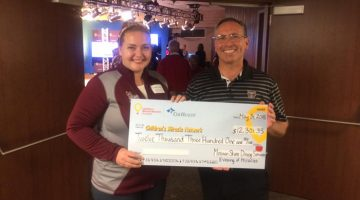 Dining services wins big, gives back
