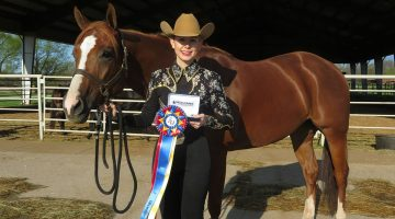 Riding high in the horse show world