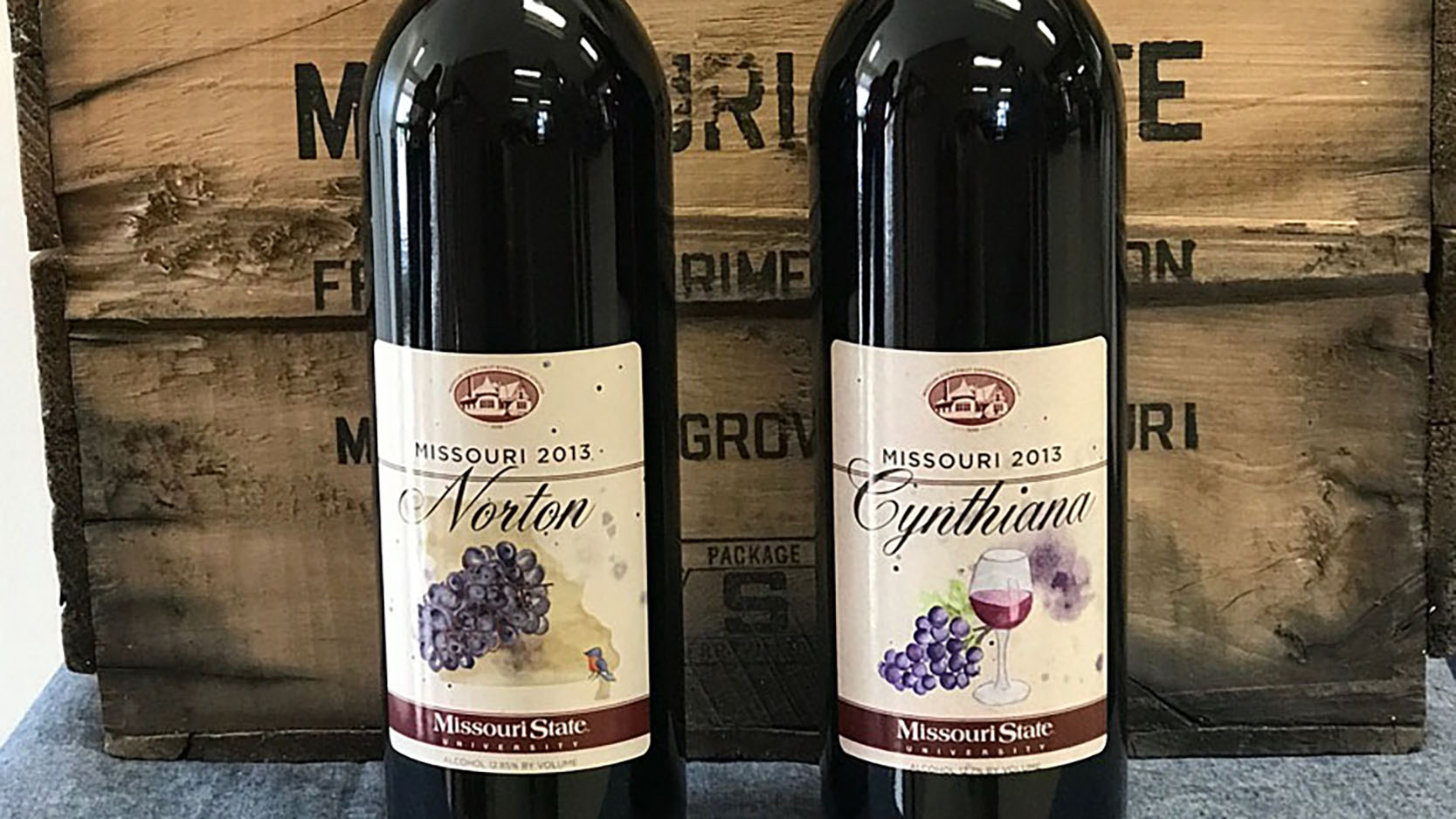 Norton and Cynthiana wines