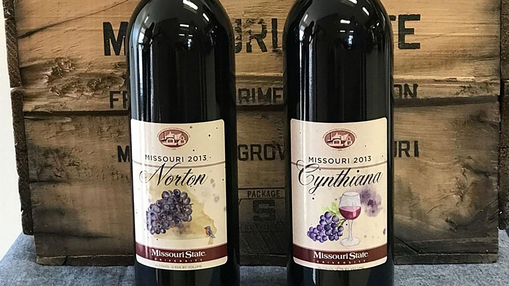 Norton and Cynthiana wines