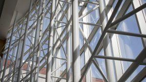 Strong Hall windows