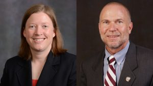 Board recognizes two with University Leadership Chair