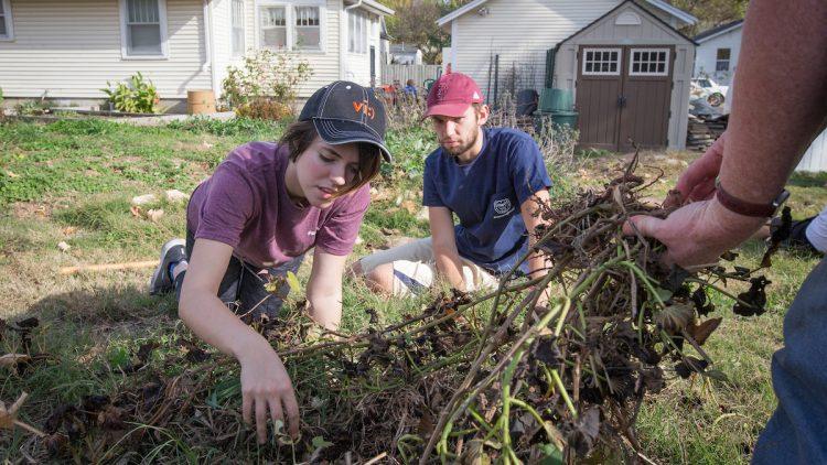Northwest Project volunteers