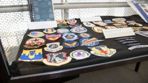 Meyer Library unveils military insignia collection