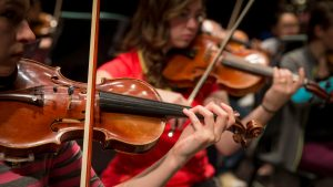 String Project creates ties between area kids and MSU music students