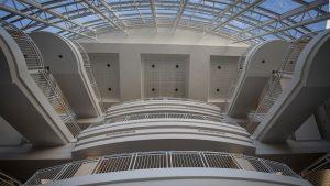 Strong Hall atrium