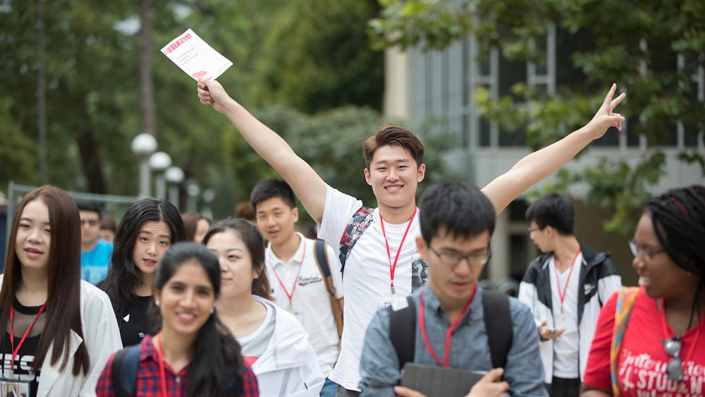 International students at MSU