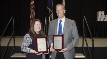 Staff honored at annual awards program