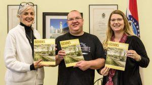 OzarksWatch editors display the magazine