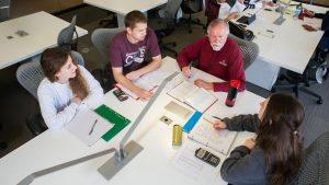 Students volunteer at free tax clinics