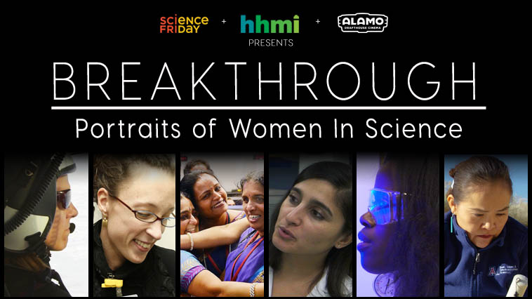 Women featured in breaking through series