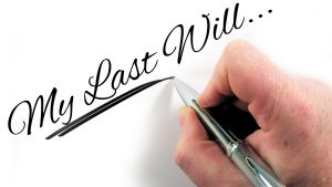 How to deal with money left in a will