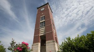 Tower on West Plains campus