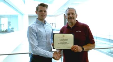 Accounting student receives prestigious scholarship