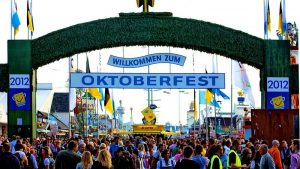 Oktoberfest celebration in Germany