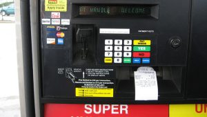 Gas station credit card payment