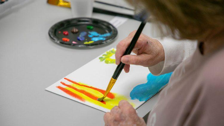 Client paints
