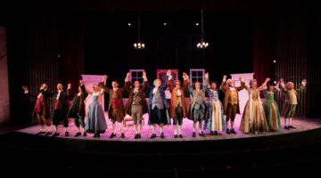Cast of play takes a bow