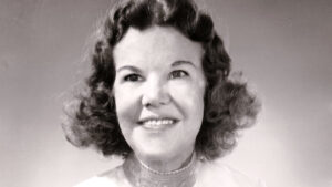 A photo of Kathryn Kuhlman