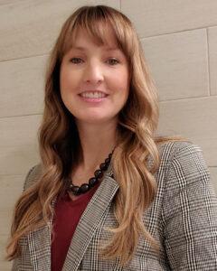 A head shot of Rebecca Rast.