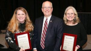 Community service award winners