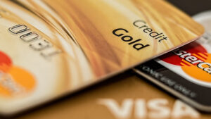 A few types of credit cards