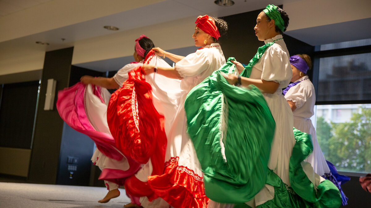 Performers at Latinx Heritage Month Banquet in 2019